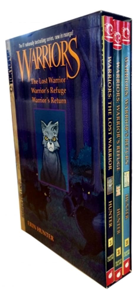 warriors box set graystripe s adventure warriors box set erin graystripes adventure 3