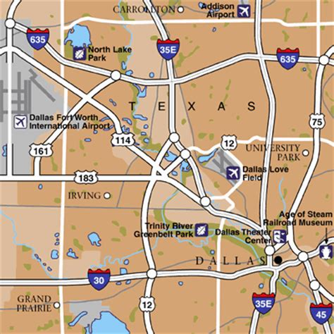 dallas texas airport map dallas forth worth international airport airport maps maps and directions to dallas dfw