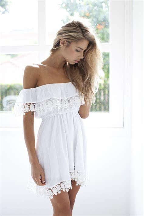 Robe Dentelle Femme - robe 224 la mode robe dentelle blanche femme