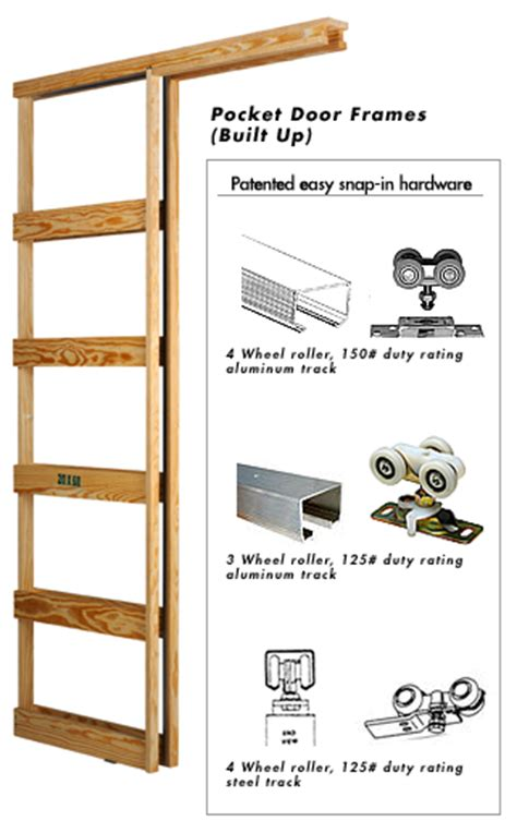 How To Build A Pocket Door Frame by Marwin Company Pocket Door Frames Tiny House Misc