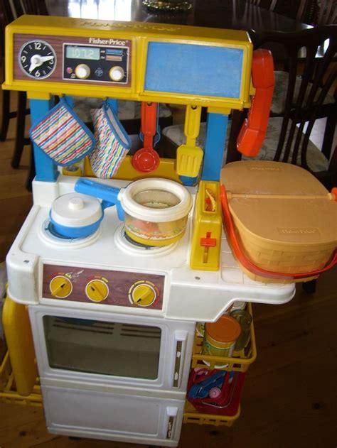 1987 Fisher Price Kitchen Set fisher price play kitchen 1987 nostalgia