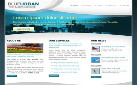 templates blogger urban free website templates themes and cms templates free