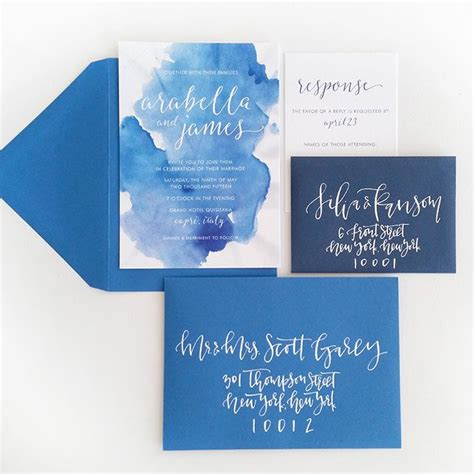 Wedding Invitations Watercolor by Best 25 Watercolor Wedding Invitations Ideas On