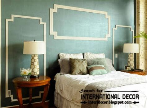 bedroom molding ideas decorative wall molding or wall moulding designs ideas