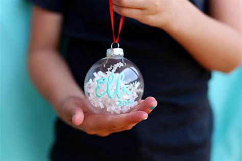 diy personalized ornaments paint personalized ornaments diy with sugarbee