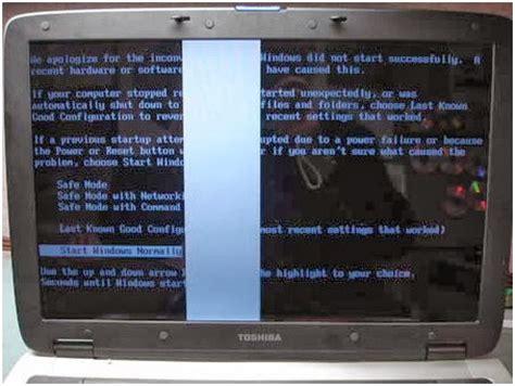 Monitor Rusak berikut contoh2 gambar layar lcd laptop yang rusak dan solusinya dahlan epsoner