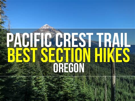 pct sections best section hikes of the pct oregon halfway anywhere
