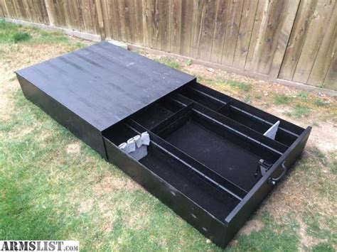 truck bed gun safe armslist for sale truck vault style truck bed storage box