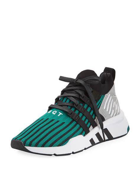 adidas s eqt support adv trainer sneakers black neiman