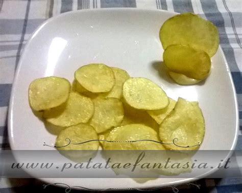 cucina patate chips di patate patata e fantasia ricette facili e