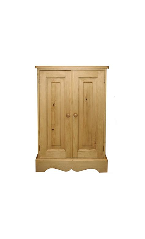 Low Bookcase With Doors Kerris Farmhouse Pine Adjustable With Doors