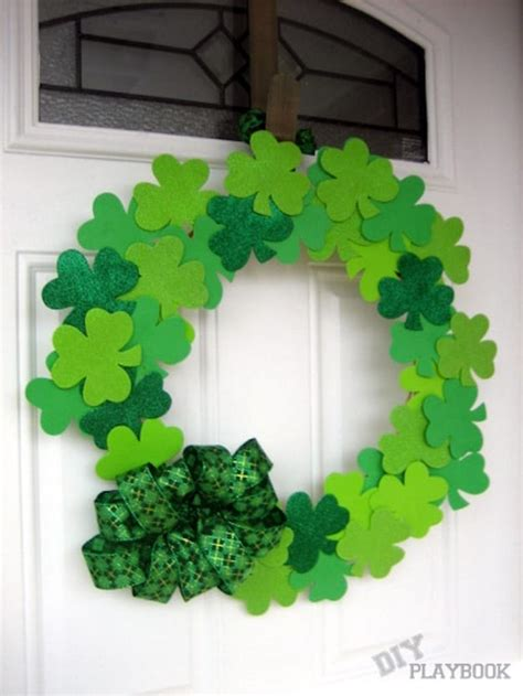 shamrock decorations home st patrick s day decorations diy projects craft ideas