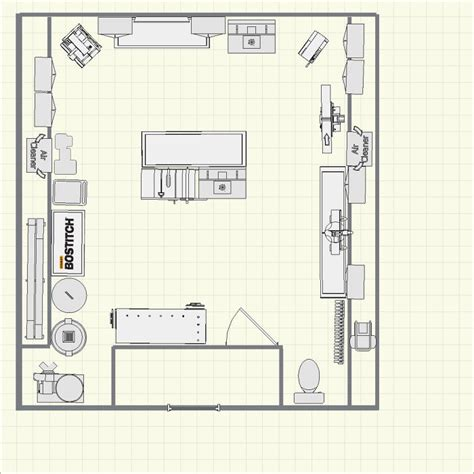 gift shop floor plan lou s 2nd level garage shop finewoodworking