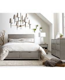 tribeca bedroom furniture tribeca grey storage bedroom furniture collection only at