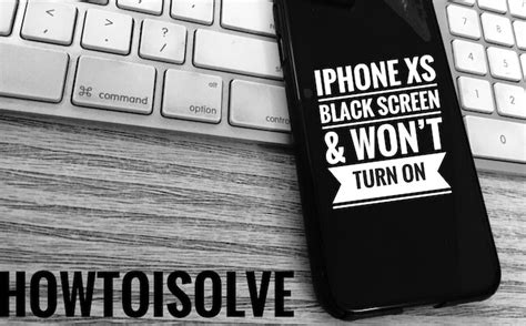 fix iphone xs wont turn   black screen issue fixed howtoisolve