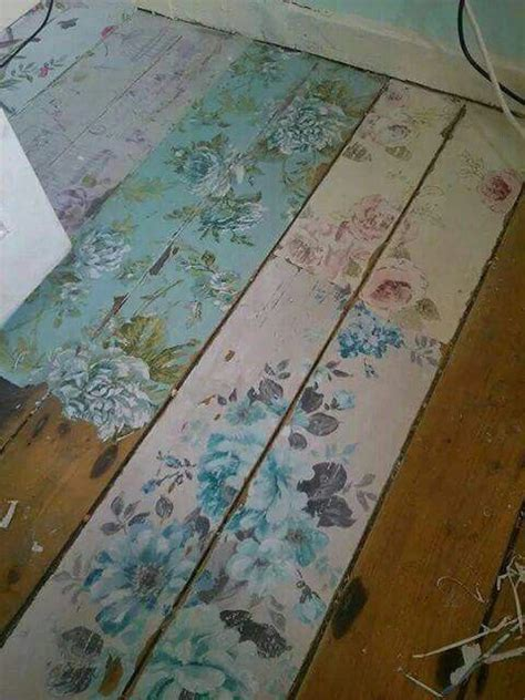 shabby chic floor ls shabby chic flower floor boards decoupage painted furniture shabby board and