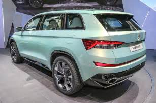 skoda cars new models 2017 skoda kodiaq official new teaser pictures and