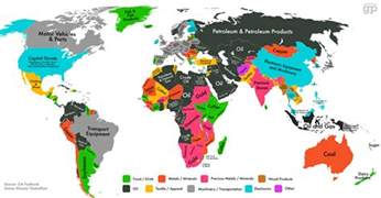 Global World Map by Mapping Supply Chains In The Global Economy Supply Chain