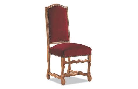 chaise louis xiii chaise louis xiii os de mouton et tissu meubles hummel