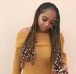 beaded braid hairstyles best 25 braids and beads ideas on pinterest