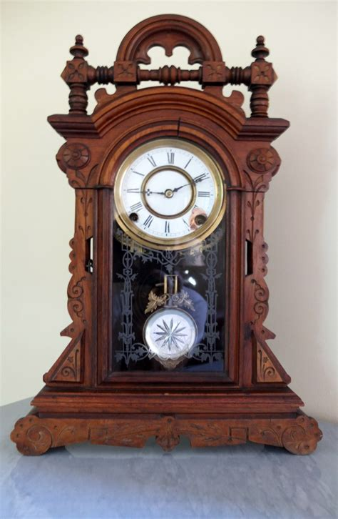 antique kitchen clock collectors weekly