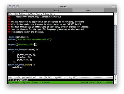 emacs tutorial github hacking like a hacker on a mac using iterm2 tmux emacs