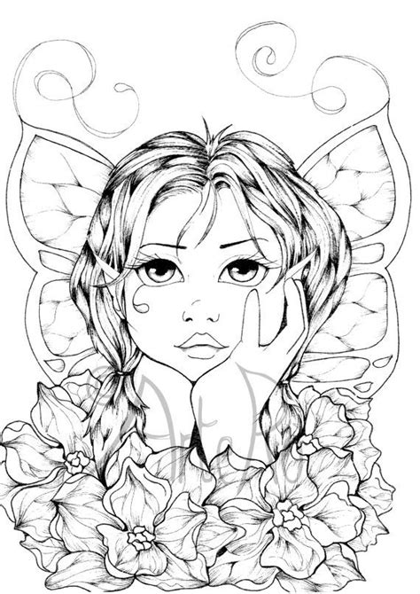 Adult Coloring Pages Art Therapy Faery Coloring Pages Therapy Coloring Pages 2