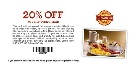 Dennys E Gift Card - dennys coupons 20 off chick fil a original chicken sandwich coupon