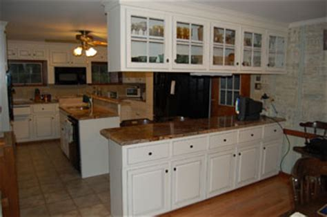 Classic Kitchen Cabinet Refacing by Before After Refacing Photos Classic Kitchen Cabinet