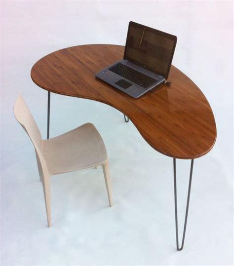 Bean Desk by Mid Century Modern Desk Kidney Bean Shaped Atomic Era