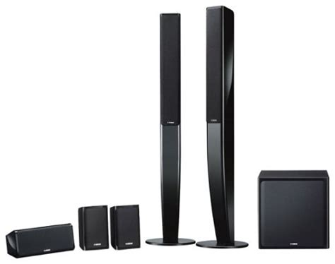yamaha  channel home theater speaker system