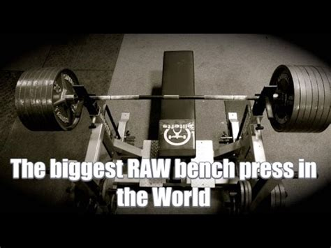 heaviest bench press in the world 505 pound incline bench doovi