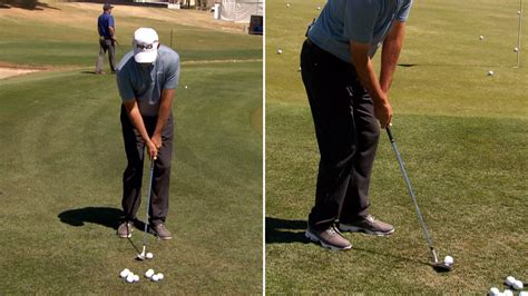 shorter golf swing stan utley short game swing keys to save strokes golf