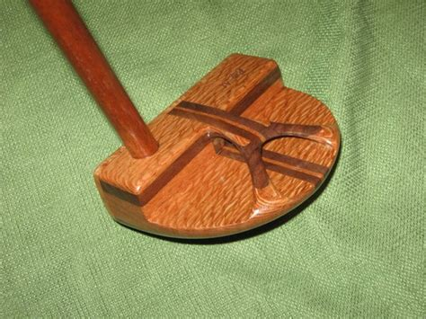 Handcrafted Putters - handcrafted wood golf putter finewoodworking