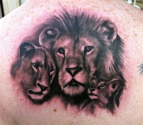 lion family tattoo family cool tattoos bonbaden