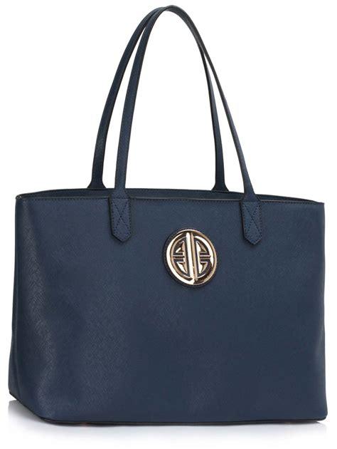 Bag Tote Navy ls00407 navy s large tote shoulder bag