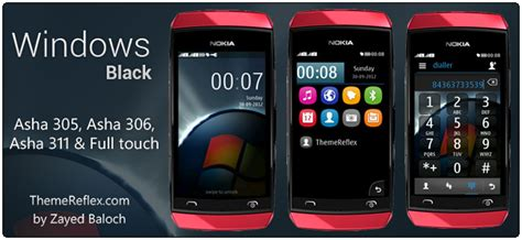 themes in nokia asha 305 windows black asha 305 asha 306 asha 308 asha 309