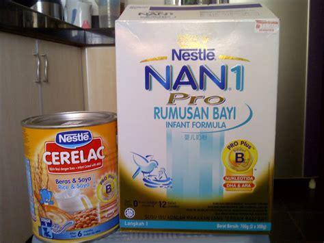 Bayi Produk Nestle aku suka aku tulis setia sajerlah dgn nestle jgn banyak bunyik