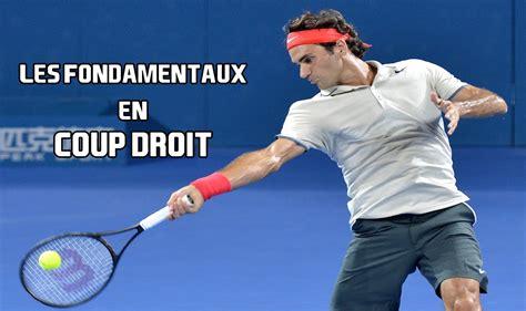 Coup Le Le Coup Droit Au Tennis Les Bases Indipensables