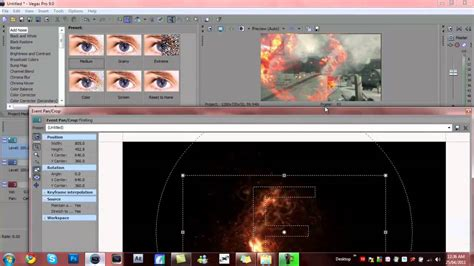 tutorial sony vegas effects sony vegas 9 tutorial l the fire effect youtube