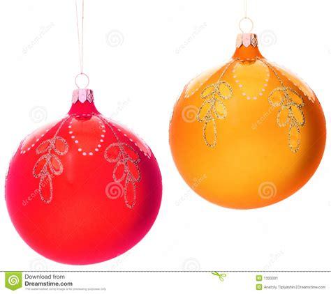 tree decorations balls tree decorations balls stock image image 1320001