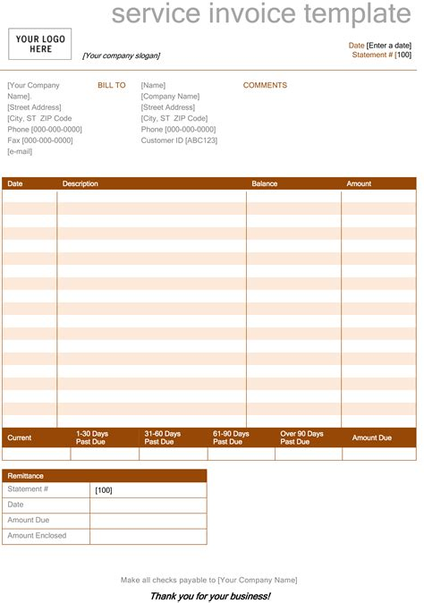 Invoice Template Microsoft Word Spreadsheet Templates For Business Microsoft Spreadsheet Templat Template Free