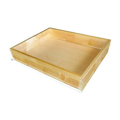 cabinet roll out trays home decorators collection 11x4x21 in roll out tray kit