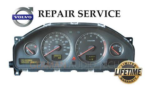 volvo s60 dim repair instrument cluster dash clocks repair service 2001 2003 ebay volvo driver information module dim dash instrument cluster repair service ebay