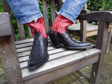 Colorado Western Boots Vintage Handmade - custom cowboy boots handmade by legendary boot co el