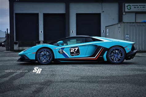 Baby Blue Lamborghini Baby Blue Lamborghini Aventador By Sr And Pur