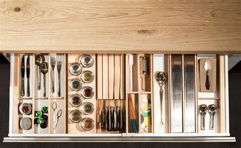 portaposate da cassetto in legno accessori cucina soluzioni configurabili massima