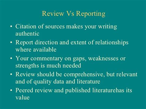 Business Valuation Literature Review by Business Research Methods Problem Definition Literature Review And Q