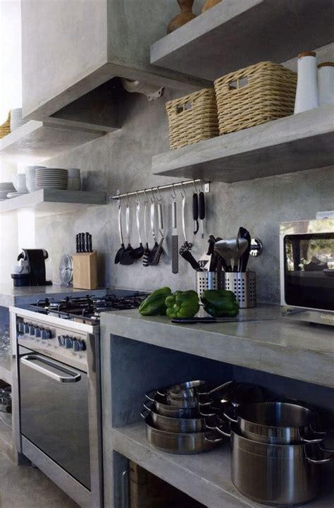 concrete kitchen cabinets 25 best ideas about concrete kitchen on pinterest