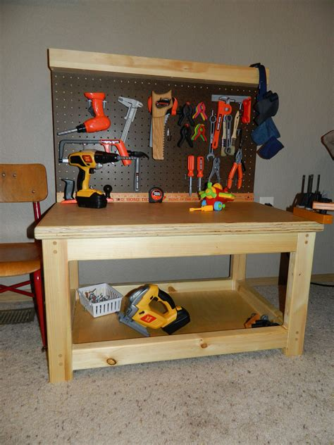 kids play work bench ana white play workbench diy projects